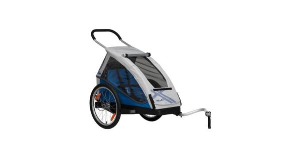 XLC Mono Kinder Anhänger silber/blau